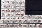 Collection Fische Autos Tiere Skulptur Architektur 1995 Korea 3765-93,5xZD+25-Block O 195€ Bloc Hb Ms Art Sheet Bf Corea - Corée Du Nord