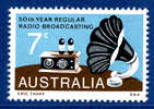 Australie - Yvert Et Tellier 526 ** TB - 50e Anniversaire De La Radio Australienne - Cote 0,45 - Neufs