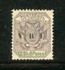 ZUID AFRIKAANSE REPUBLIEK 1900 Hinged Stamp(s) 2SH6d Dull Violet (overprint V.R.I.) Sacc Nr. 240 - South Africa (...-1961)