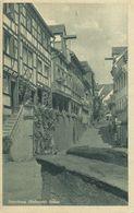 AK Meersburg Bodensee Steige Gründruck ~1930 #13 - Meersburg