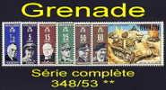 Timbres Grenade 348/53 (1970) (Colonie Anglaise) - Grenada (1974-...)
