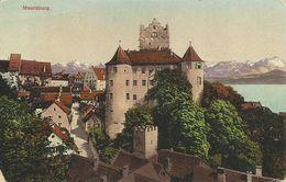 AK Meersburg Bodensee Schloss & Ort Color ~1915 #19 - Meersburg