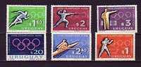 0805 Uruguay Neuf ** N° A 271/76 Jeux Olympiques De Tokyo : Athlétisme : Escrime : Aviron : Tir : Boxe - Uruguay