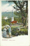 AK Amras Innsbruck Schloss & Dorf Autocolor ~1905 #02 - Innsbruck