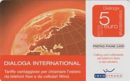 *ITALIA: INFOSTRADA* - Scheda Usata - Italia