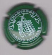 Capsule Champagne BOVIERE Denis ( 4 ; Vert Et Blanc ) 6€ {S30-20} - Champagne