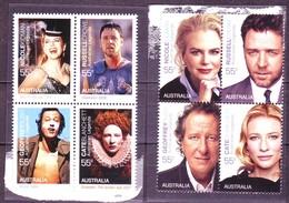 Australia   2009 Cinema People 2 Viererblocks  MNH** - Cinema