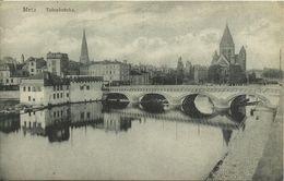 Postkarte Metz Lothringen Totenbrücke ~1915 #07 - Lothringen