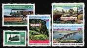 1977-BURMA-TRAIN-RAILWAIS           -FERROVIE - Birmania (...-1947)