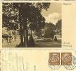 Postkarte Weimar An Der Promenade Geschäfte 1936 #23 - Weimar