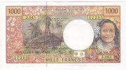 Nouvelle Calédonie - 1000 FCFP - Alphabet J.043 / 2011 / Signatures Barroux-Noyer-Besse - Neuf / Jamais Circulé - Nouméa (New Caledonia 1873-1985)