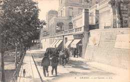 FR39 Grasse, Alpes Maritimes, France, Le Casino, Street View, Vintage Postcard. - Grasse