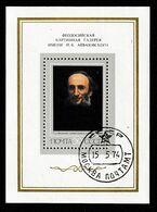 Bo092 - URSS 1974 - Bloc 92 (YT) Avec Empreinte 'Expo Philatélique De Moscou - Portrait De Aivazovski Par Kramskoï - 1923-1991 USSR