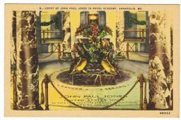 AMERIQUE     Maryland   Annapolis   Crypt Of John Paul Jones - Annapolis – Naval Academy