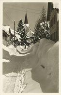 AK Oberstaufen Allgäu Schlossstraße Winter 1938 #08 - Oberstaufen