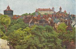 AK Nürnberg Panorama Lumière Farbfoto Hildenbrand #134 - Nuernberg