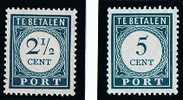 Neth. Antillen 1948-9  Postage Due Dark Green  MH * - Niederländische Antillen, Curaçao, Aruba