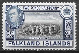 Falkland Island 1938 1v MLH* - Farm