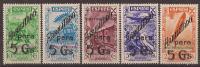 MABE17-LFTA7005TM.Maroc Espagnol.Spanish Morocco .MARRUECO ESPAÑOL..HISTORIA DEL  CORREO.BENEFICENCIA. 1941.(Ed 17/21**) - Marokko (1956-...)