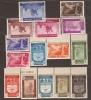 ES711SGDEV-L3852TAES.ESCULTURA ..Spain Espagne. PRENSA AEREA 1936 (711/25**)sin Charnela .LUJO VARIEDAD BORDE DE HOJA - Escultura