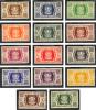 Wallis Et Futuna (Y/T No, 133-46 - Série De Londres) * - Unused Stamps