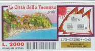 """PO4647A# Biglietto GRATTA E VINCI - """"LE CITTA' DELLE VACANZE"""" - SCILLA / REGGIO CALABRIA - Biglietti Della Lotteria"""