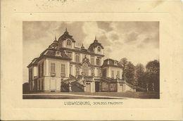 AK Ludwigsburg Schloss Favorite 1917 Feldpost #28 - Ludwigsburg
