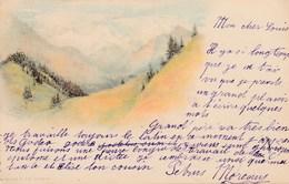 SUISSE - Précurseur - Carte Dos Simple. Litho. 1898. Vouga & Cie, Genève. - GE Geneva