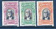LIBERIA, REGISTERED 10 CENTS, ROBERTSPORT, HARPER, GRENVILLE, MH * - Liberia