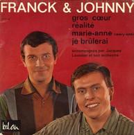 "Franck Et Johnny  ""  Gros Cœur  "" - Vinyles"