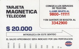 *COLOMBIA* - Scheda Telefonica Usata - Colombia