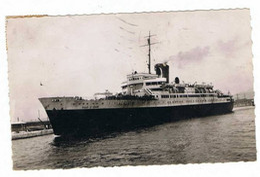 LE  COURRIER  VILLE D'ORAN   1949 - Piroscafi