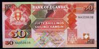 UGANDA : Banconota 50 Scellini - 1998 - P30 - FDS - Uganda
