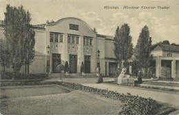 AK München Künstler-Theater Jugendstil ~1908 #84 - München