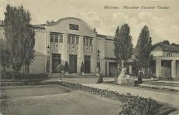 AK München Künstler-Theater Jugendstil ~1908 #84 - Muenchen