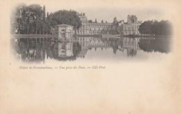 Dép. 77 - Palais De Fontainebleau. Carte Nuage - Vue Prise Du Parc ND. Photo N°5 . - Fontainebleau