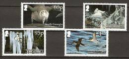South Georgia 2006 Birds 4v+1bl MNH** - Unclassified