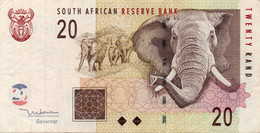 SOUTH AFRICA ELEPHANT 20 RAND BANKNOTE - South Africa