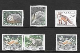 Sweden 1996 MiNr. 1925 - 1929  Schweden Sverige  Fauna Mammals 6v MNH**  6,00 € - Non Classificati