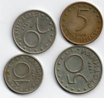 "BULGARIA - COMPLETE SET COINS 2002 "" PROOF "" - Bulgaria"