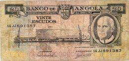 PORTUGAL ANGOLA 1000 ESCUDOS 1973 - LUIZ DE CAMÕES VF - Angola
