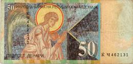 * MACEDONIA - 50 DENARI 2007 - P 15 - Macédoine