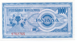 * MACEDONIA - 500 DENAR 1992 UNC - P 5 - Macedonia