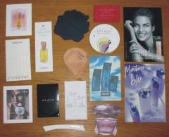 Eau De Toilette 15 Cartes Et Testeurs Parfumés - Perfume Cards