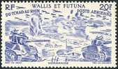 WALLIS ET FUTUNA 1946 - Yv. PA 8 * TB  Cote= 1,80 EUR - Tchad Au Rhin 20f ..Réf.W&F10929 - Wallis Und Futuna