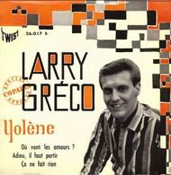 "Larry Gréco  ""  Yolène  "" - Vinyl Records"