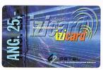 CURACAO -  UTS / SETEL (REMOTE) -  IZI CARD 25  EXP. 12.02  -  USED  -  RIF. 954 - Antilles (Netherlands)