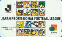 Télécarte Japon / 110-011 - Football League / Mascottes  - Soccer Japan Phonecard - 269 - Sport