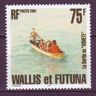 Wallis And Futuna 2004 Marine 1v MNH** - Maritime