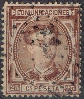 Espagne - 1876 - Y&T N° 166 - Oblitéré - Oblitérés